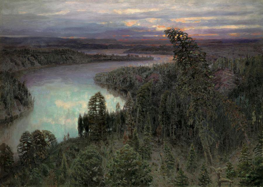 Васнецов А. Північний край 1899  178 x 250 см