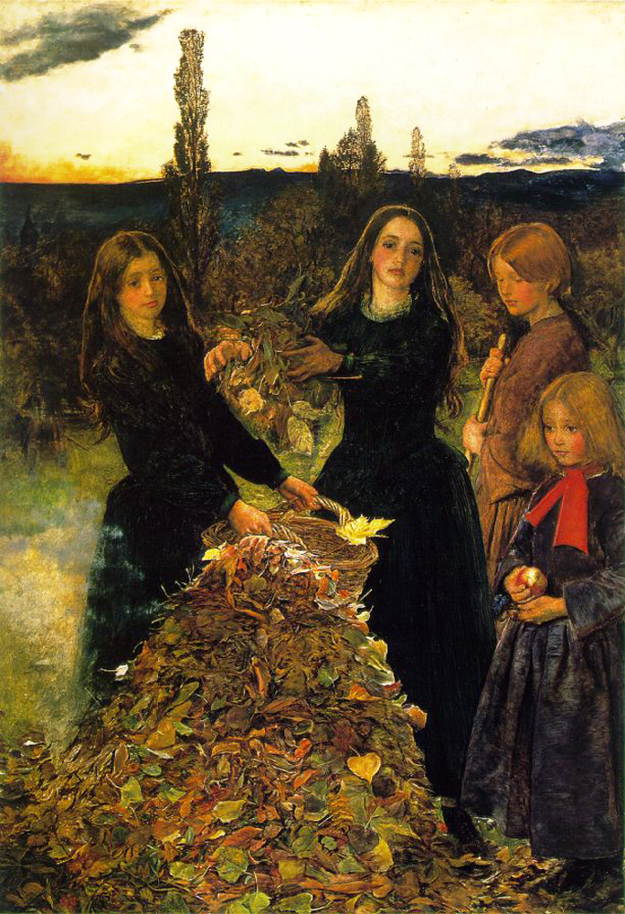 John Everett Millais - Autumn Leaves 1856