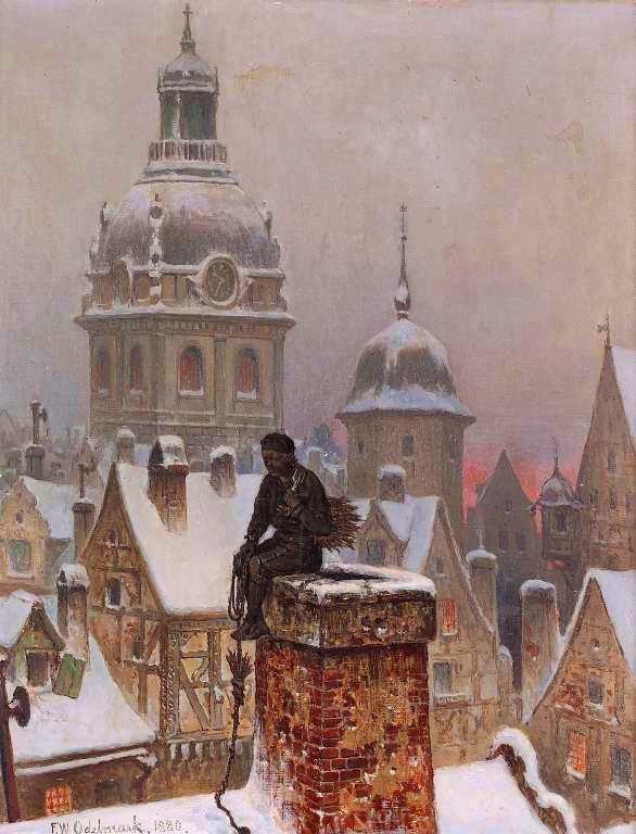 Frans Wilhelm Odelmark - The Chimney Sweep, 1880