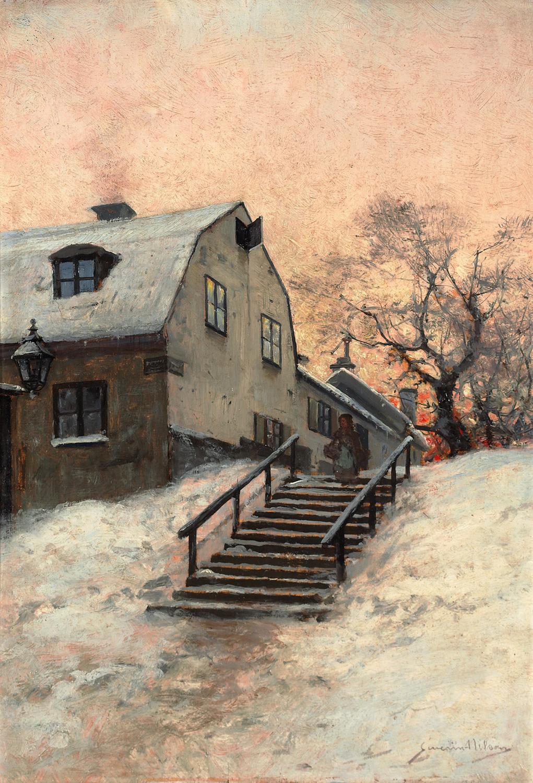 Severin Nilsson, (1846-1918)