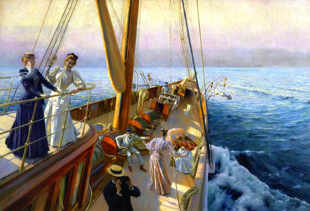 Julius LeBlanc Stewart - Yachting the Mediterranean, 1896