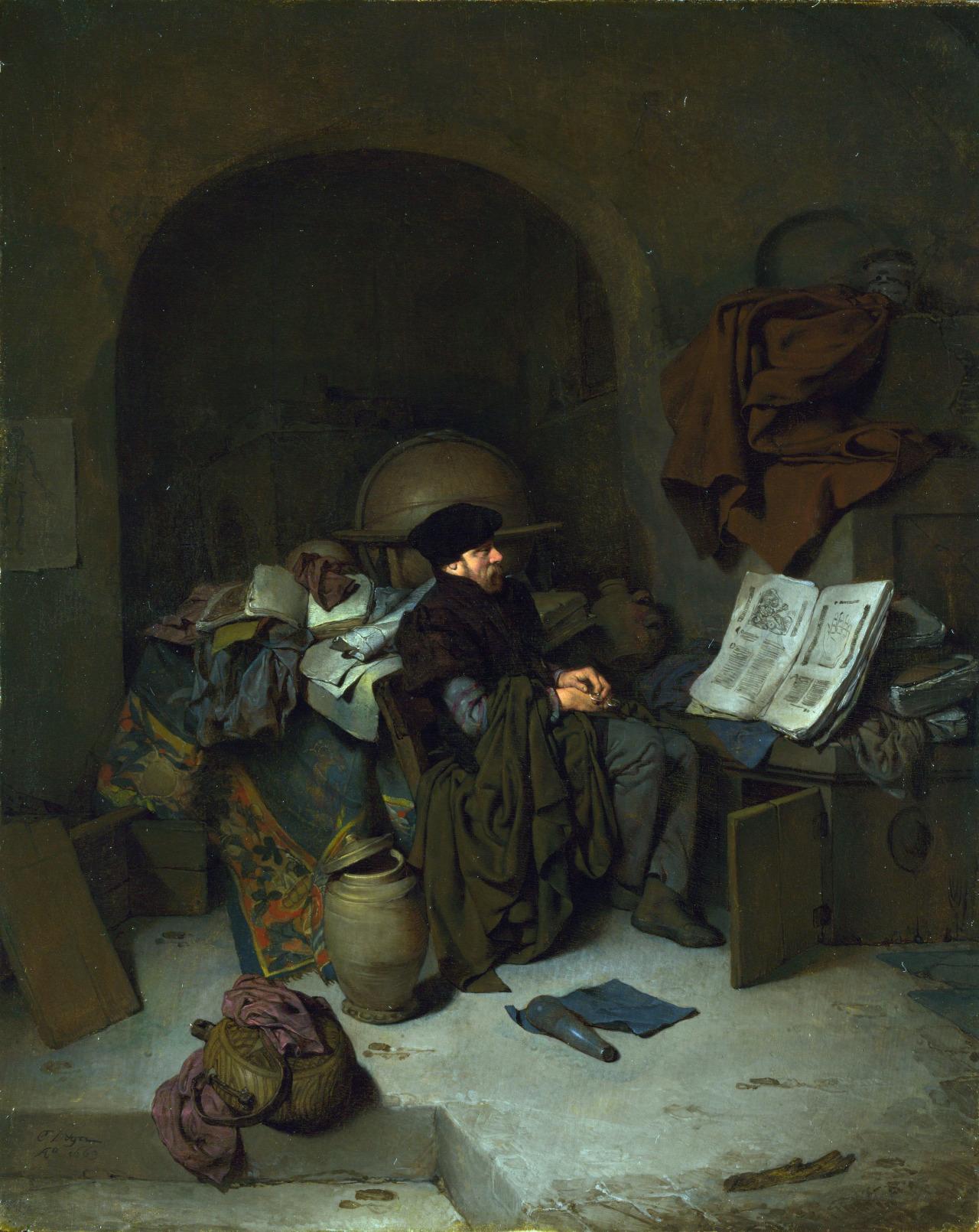 Cornelis Bega - An Astrologer
