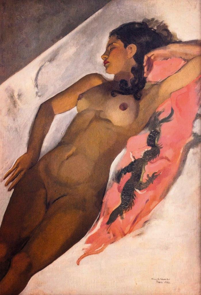 Amrita Sher-Gil - Sleeping woman, 1933