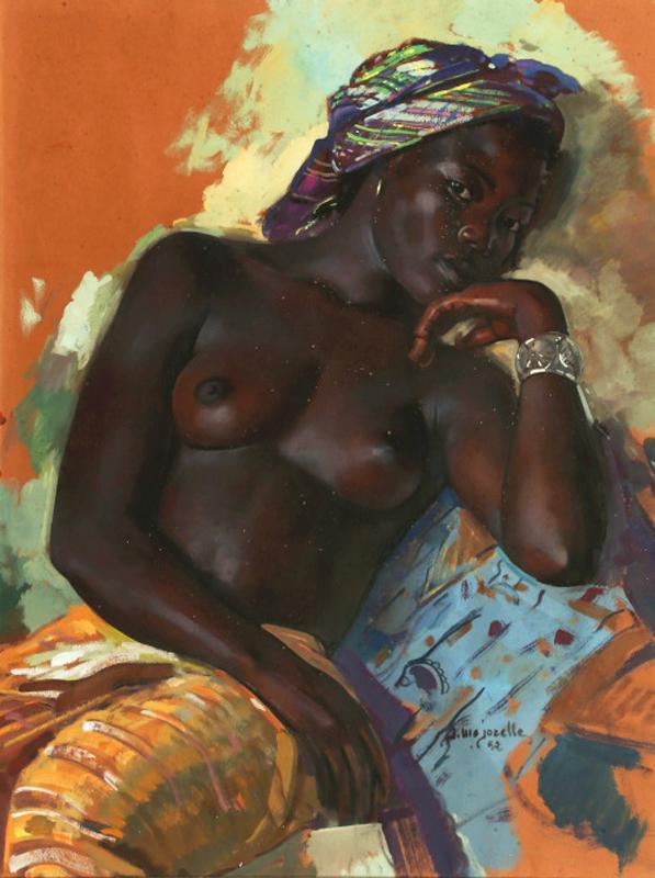 Jacques Majorelle - African women