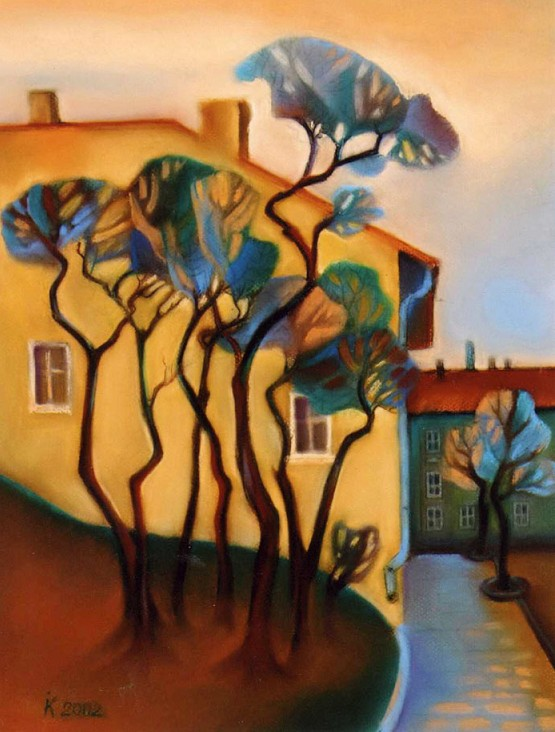 Костюк Ірина -  Затаєний спокій', 2002