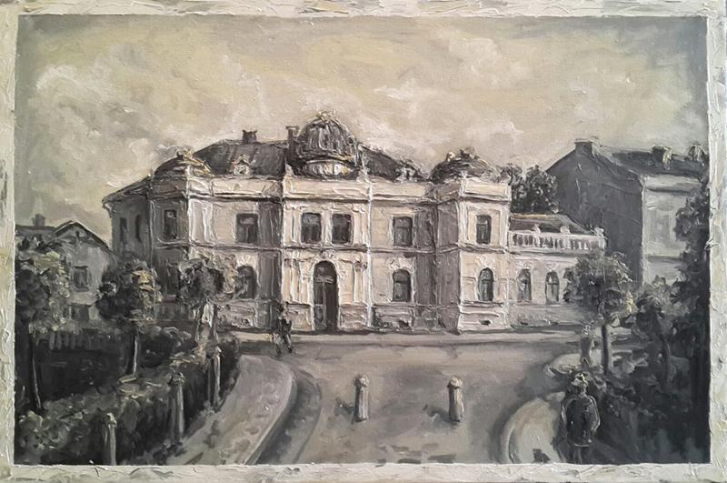 Петро Грицюк - Будинок повітової ради 1910 роки, 2015