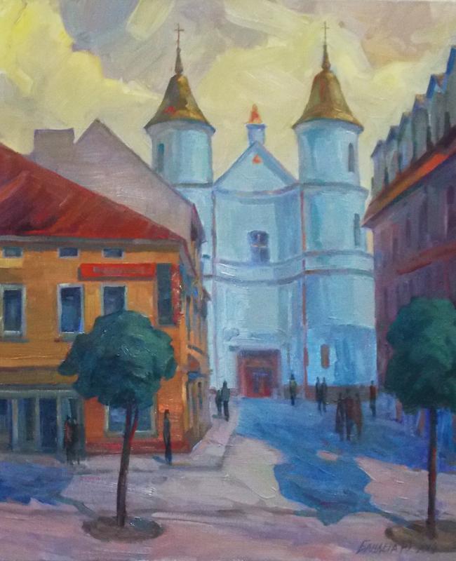 Юрій Бандера - Вірменська церква