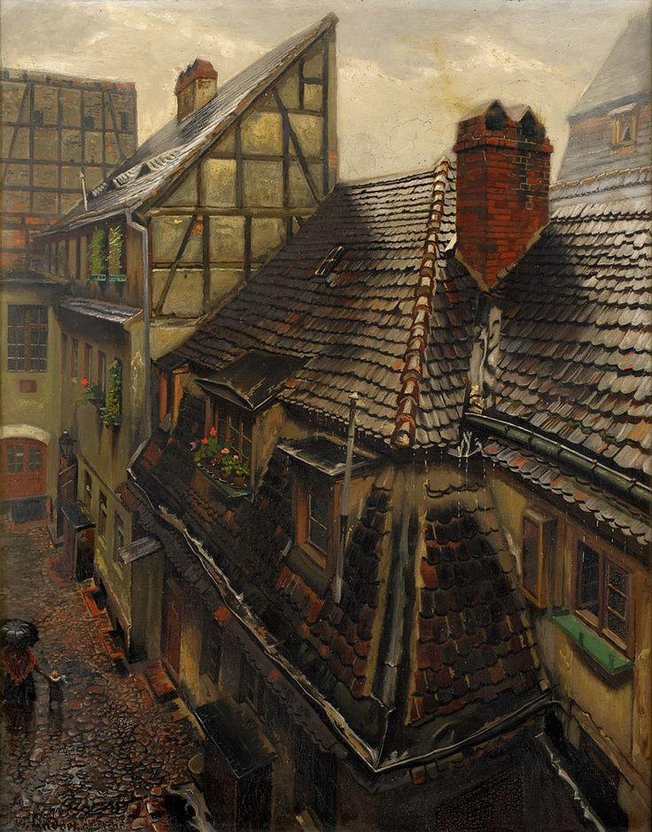 Wilhelm Lindner (1887 - 1965) - Old Berlin