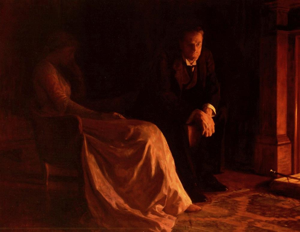 John Collier - The Confession, 1902