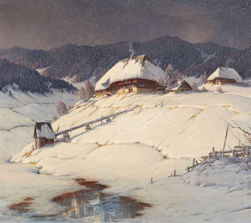Karl Hauptmann - Near Bernau, 1934