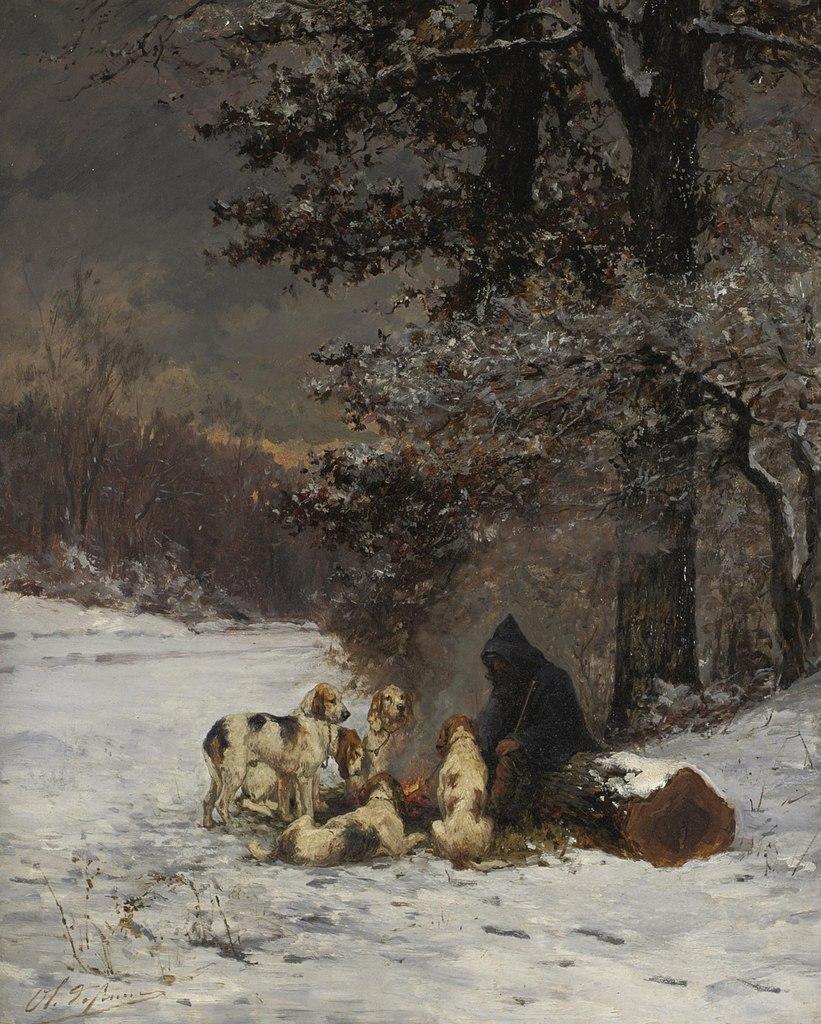 Charles-Olivier de Penne - A Warm Break From The Hunt