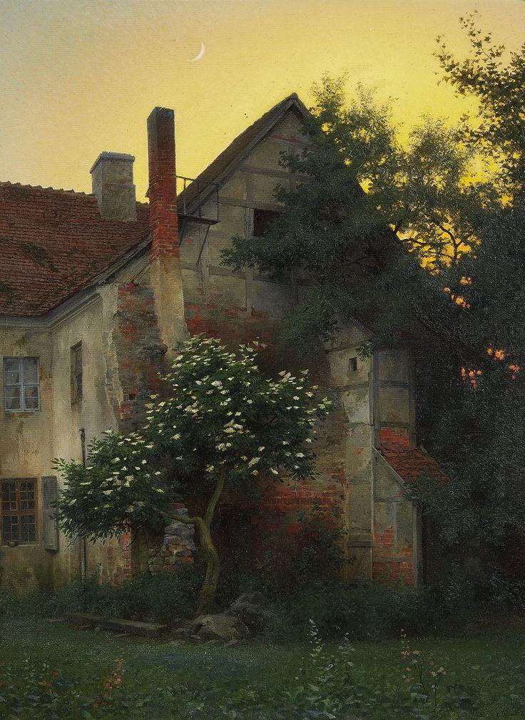 Konrad Dielitz - Der alte Giebel, 1910