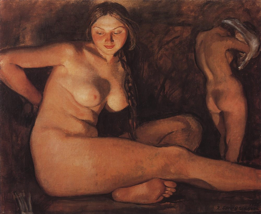 Zinaida Serebriakova - Bath, 1926