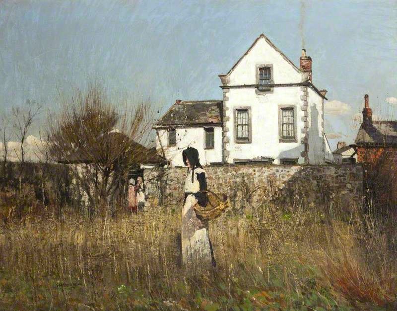William Page Atkinson - Landscape, The White House, 1880