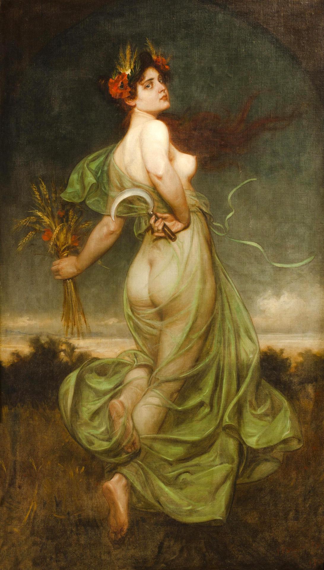 Franz Bohumil Doubek (1865-1952) - Allegory of Summer