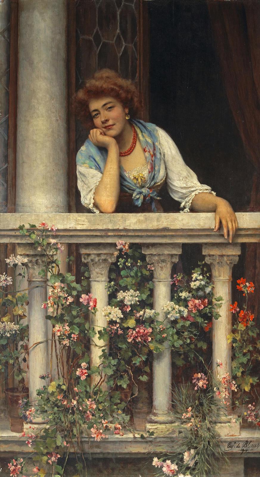 Lovelorn, 1911, Eugen von Blaas