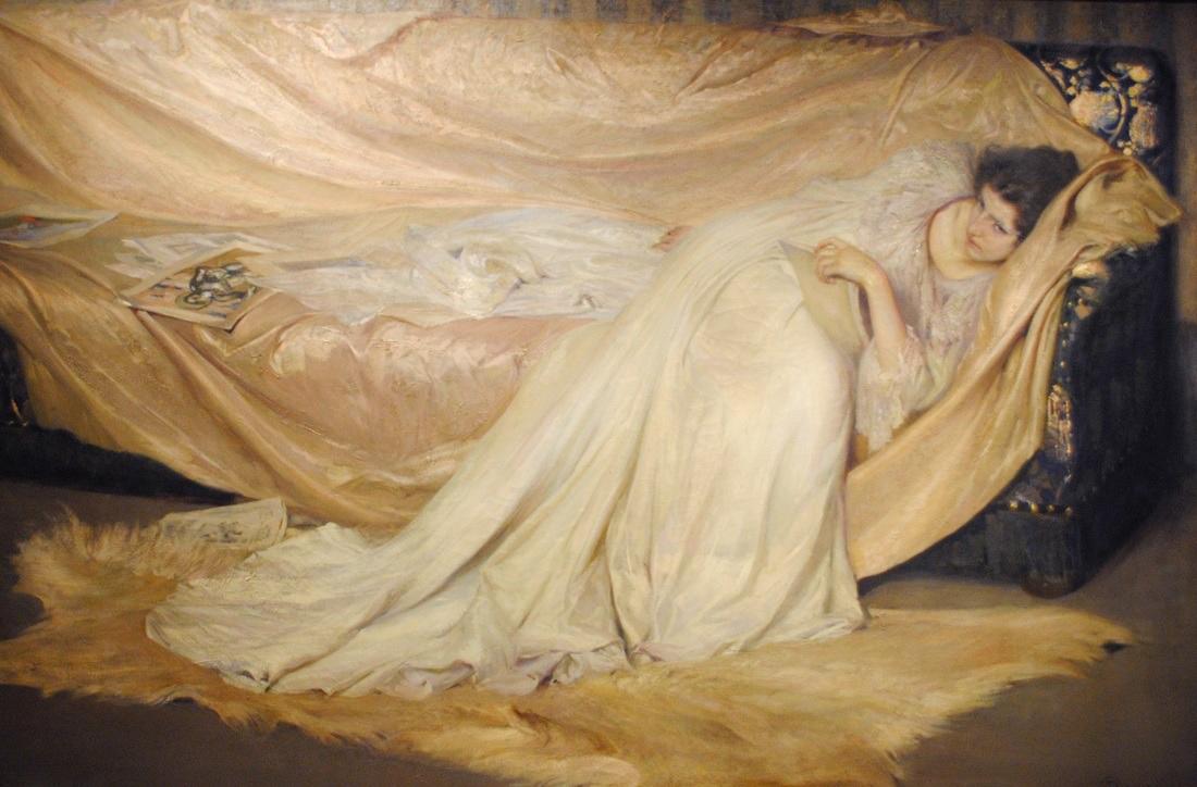 Antonio Rizzi - Study in White, 1896