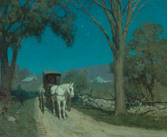 Victor Coleman Anderson -  Moonshine,  1915