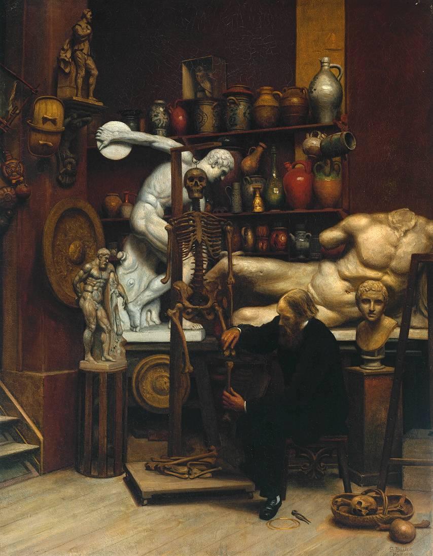 Samuel Butler - Mr. Heatherley's Holiday. An Incident in Studio Life. 1874