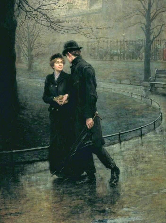 William Riviere - The Garden of Eden, 1901