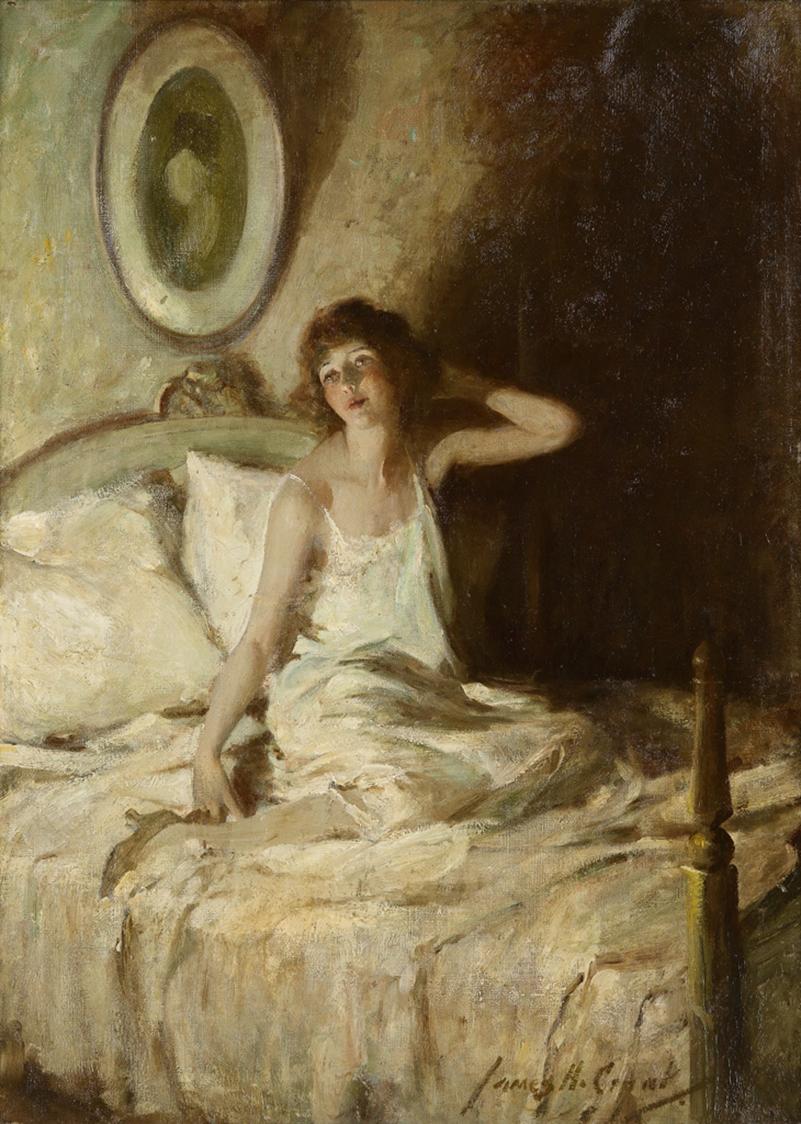 James A. Frank - Morning light, 1922