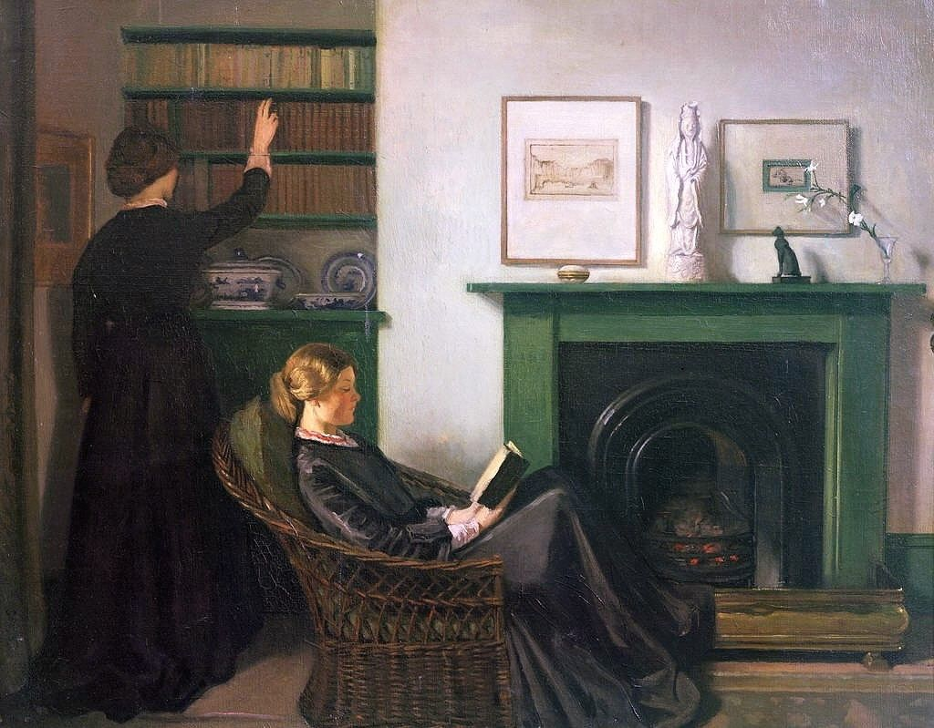 William Rothenstein - The Browning Readers