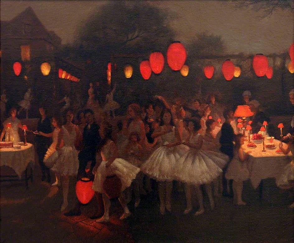Thomas Cooper Gotch - The Birthday Party, 1929