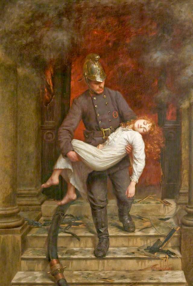 Charles Vigor - Saved, 1890