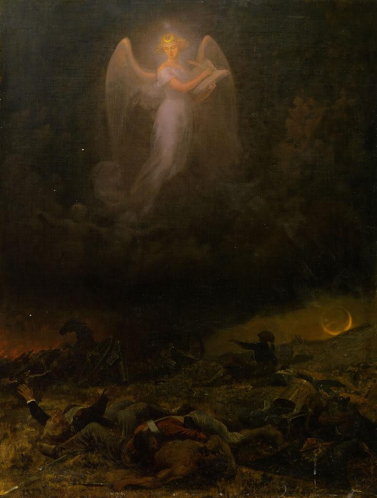 Emanuel Leutze The Angel of the Battlefield, 1864
