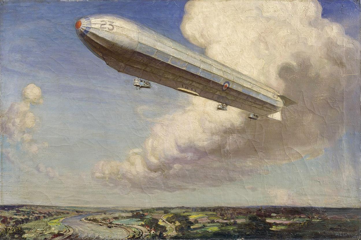 Alfred Egerton Cooper - Airship R 23
