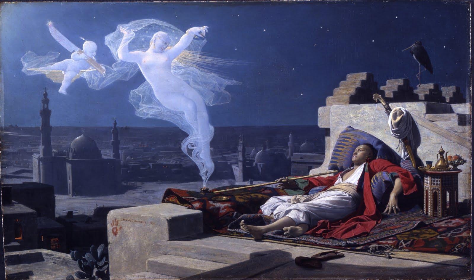 Jean-Jules-Antoine Lecomte du Nouy -A Eunuch's Dream, 1874