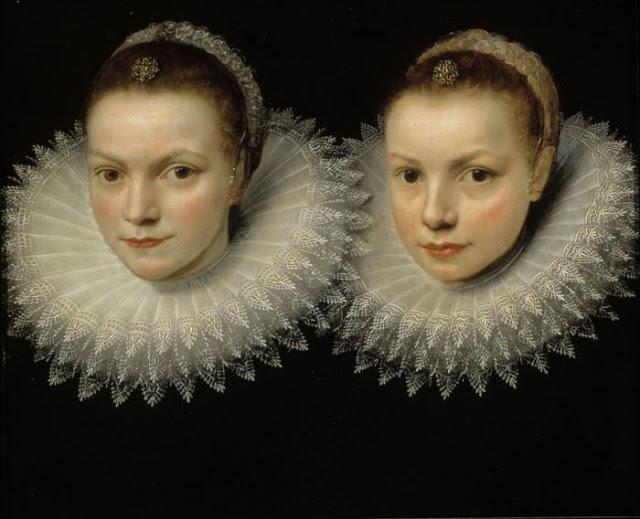 Cornelis de Vos - Two Sisters 1610-1615