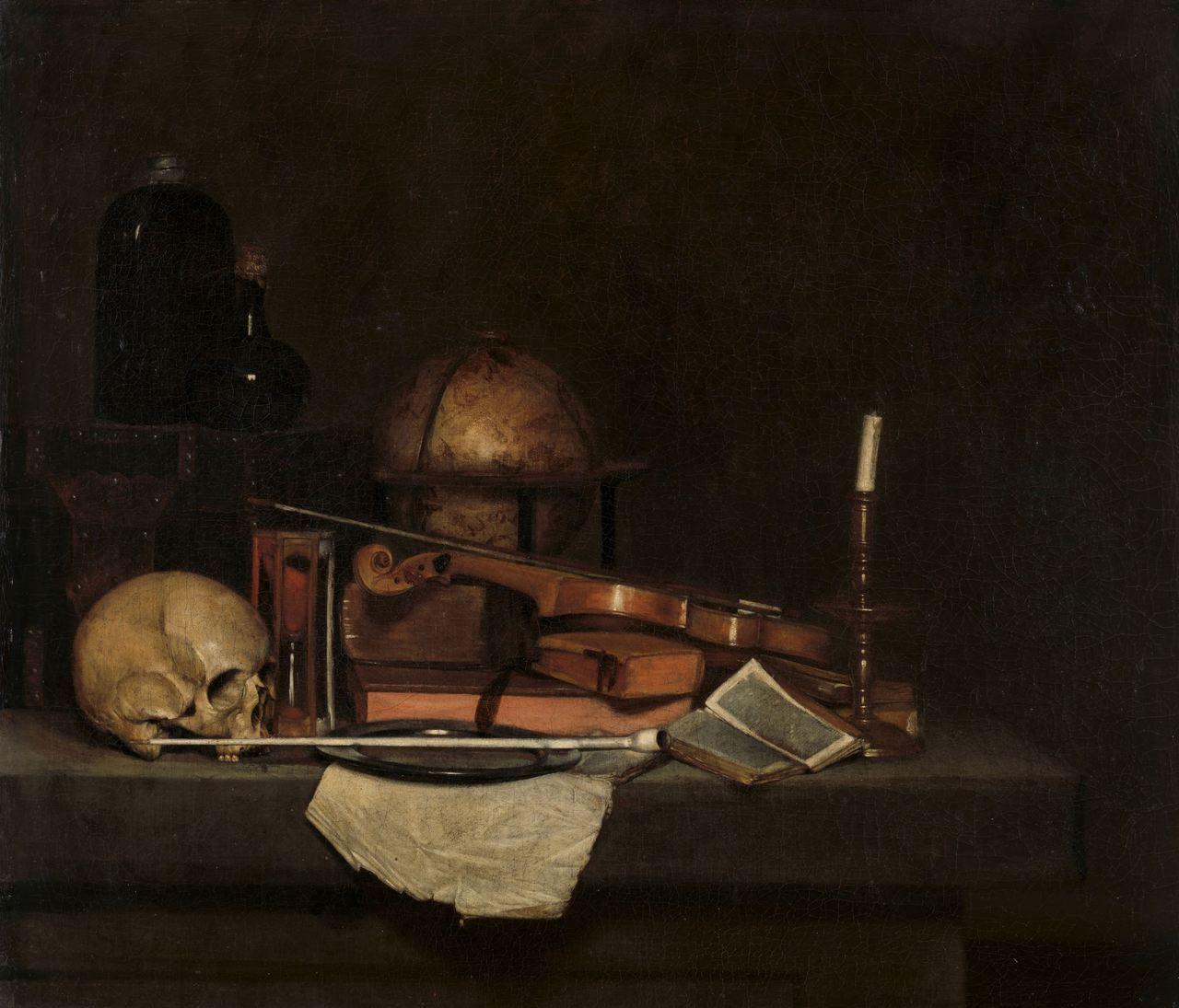 Harmen Steenwyck - Vanitas Still Life, 1630-60