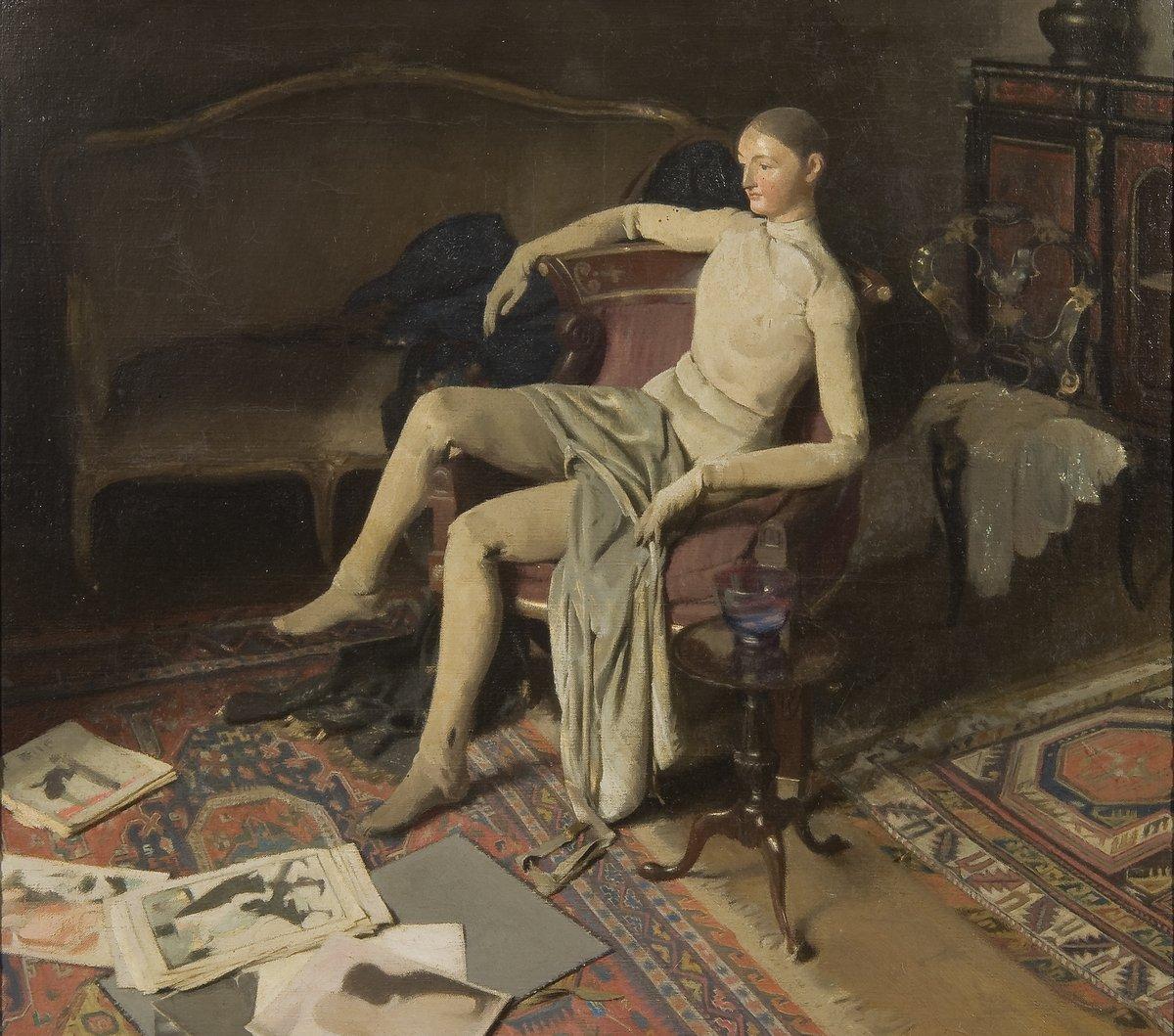 Alan Beeton (1880–1942), Reposing.