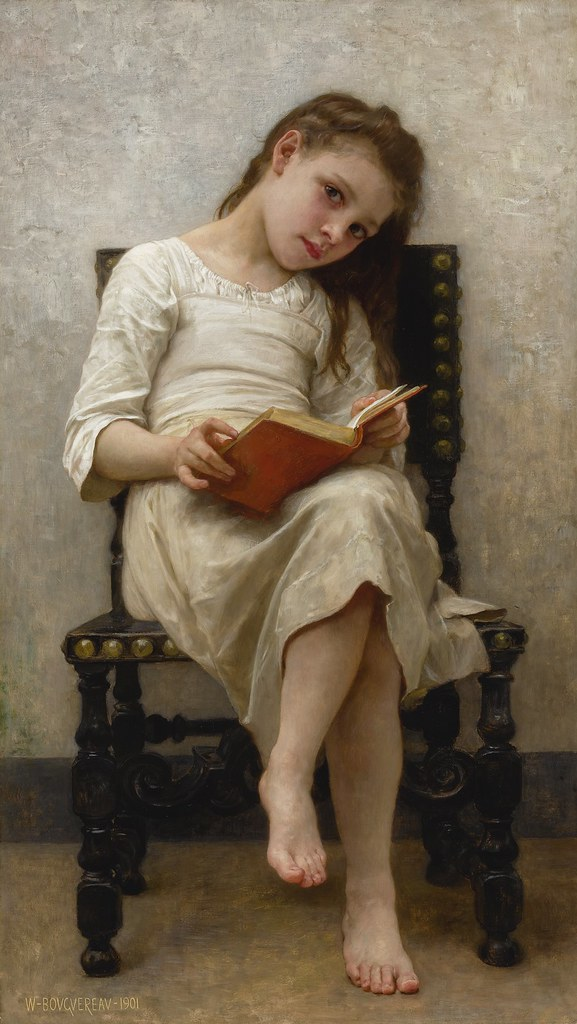 William Adolphe Bouguereau - Le Livre De Prix 1901