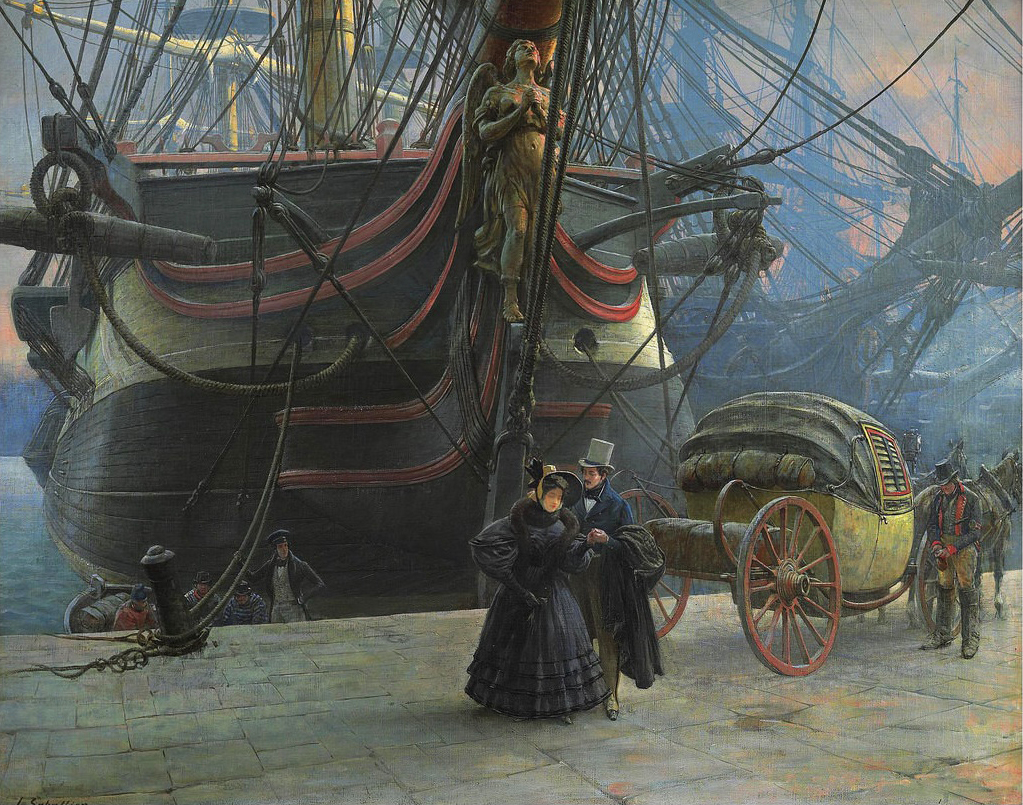 Louis Remy Sabattier (1863-1935) - The Departure