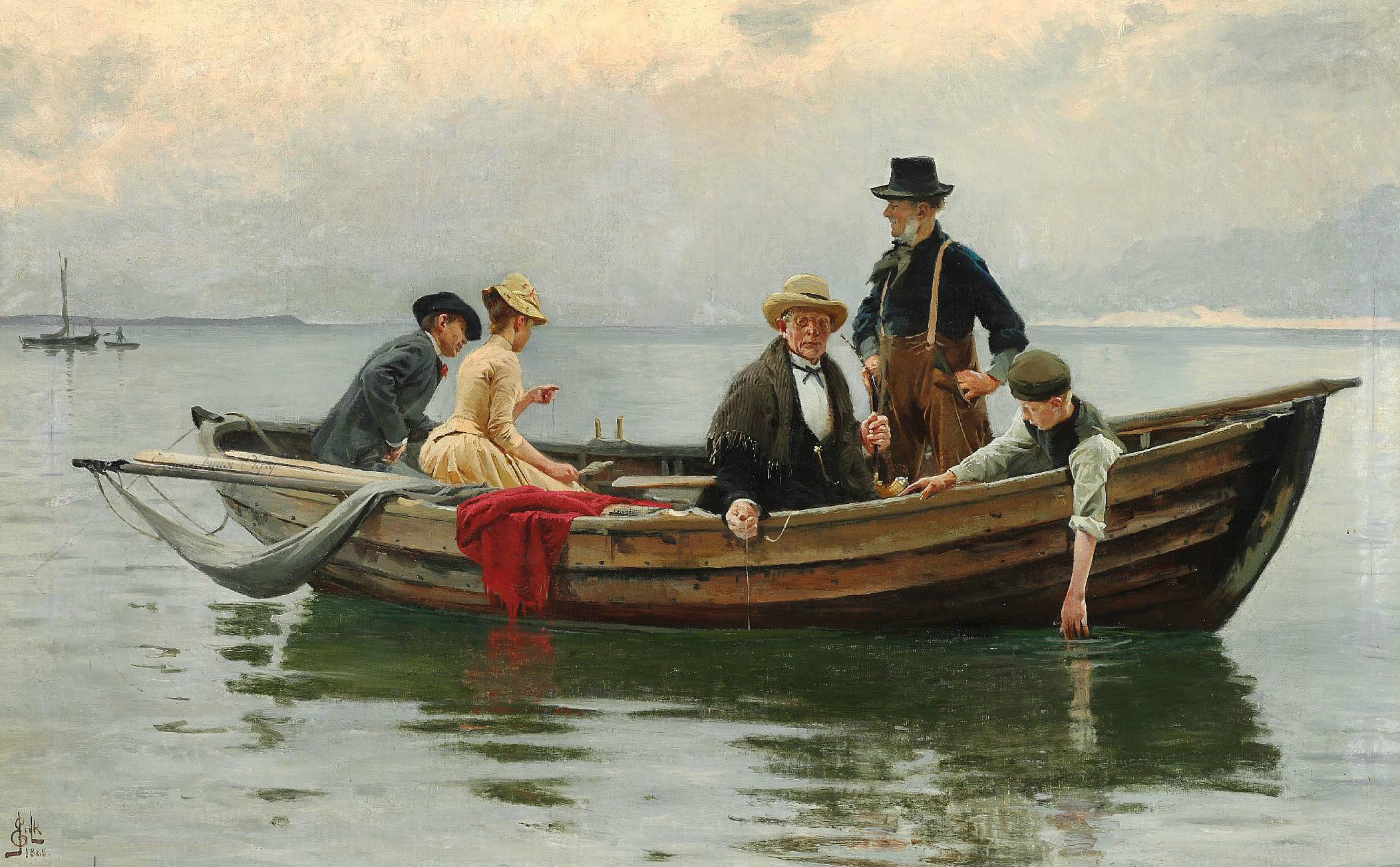 Erik Henningsen - Sommerferie , 1888