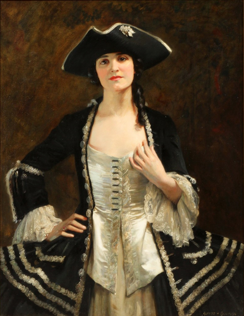 Albert Henry Collings (1868 -1947) - Catherine La Rose