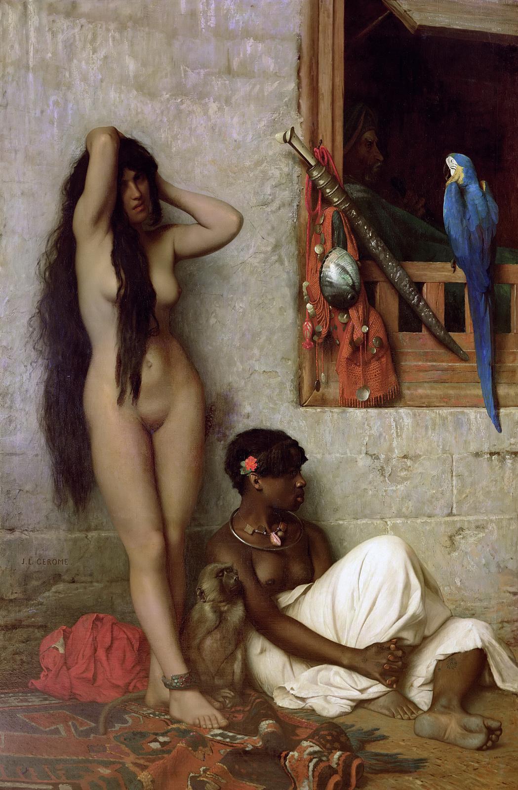 Jean-Leon Gerome - Slave For Sale, 1873