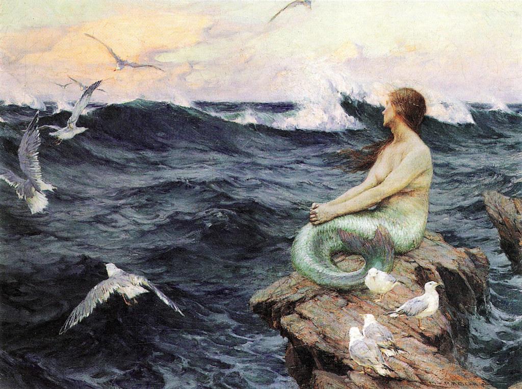 Charles Murray Padday (British, 1868–1954) - Mermaid