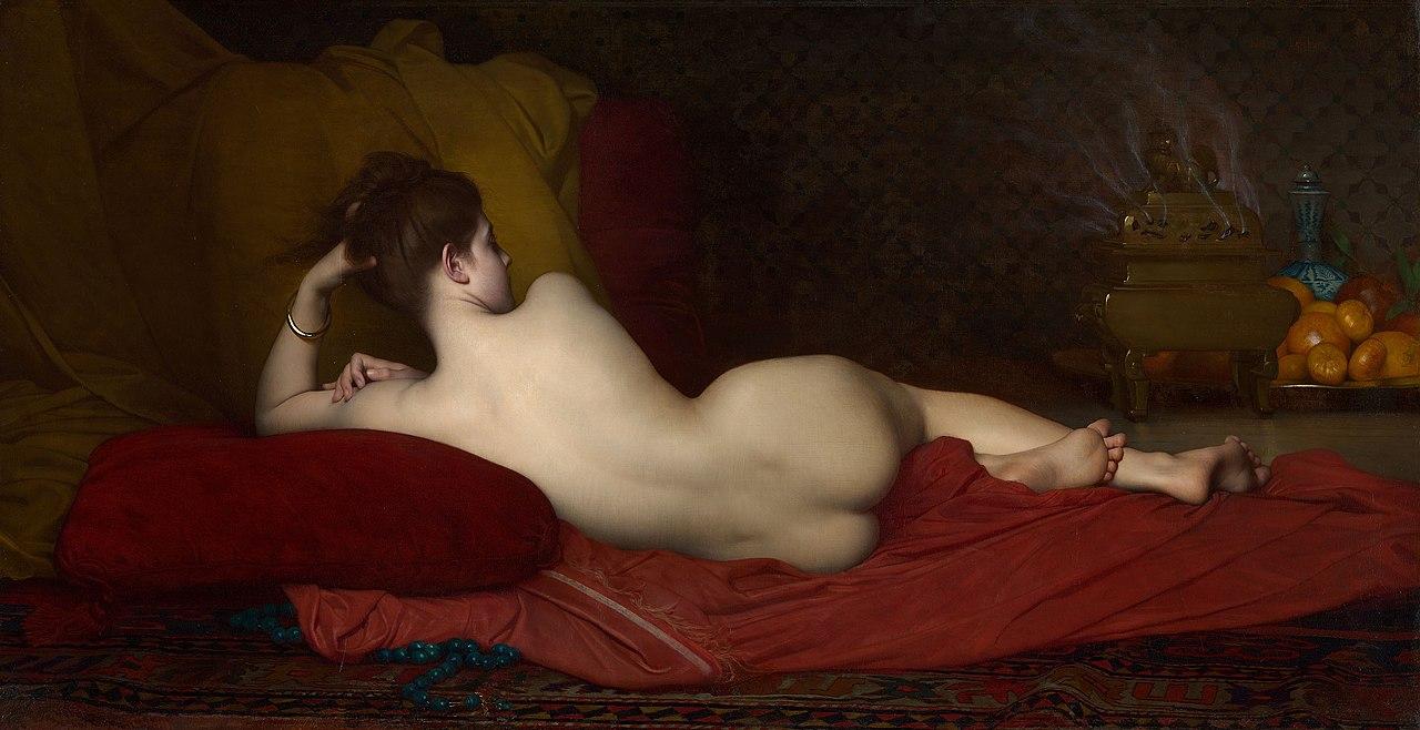 Jules Joseph Lefebvre - Odalisque, 1874