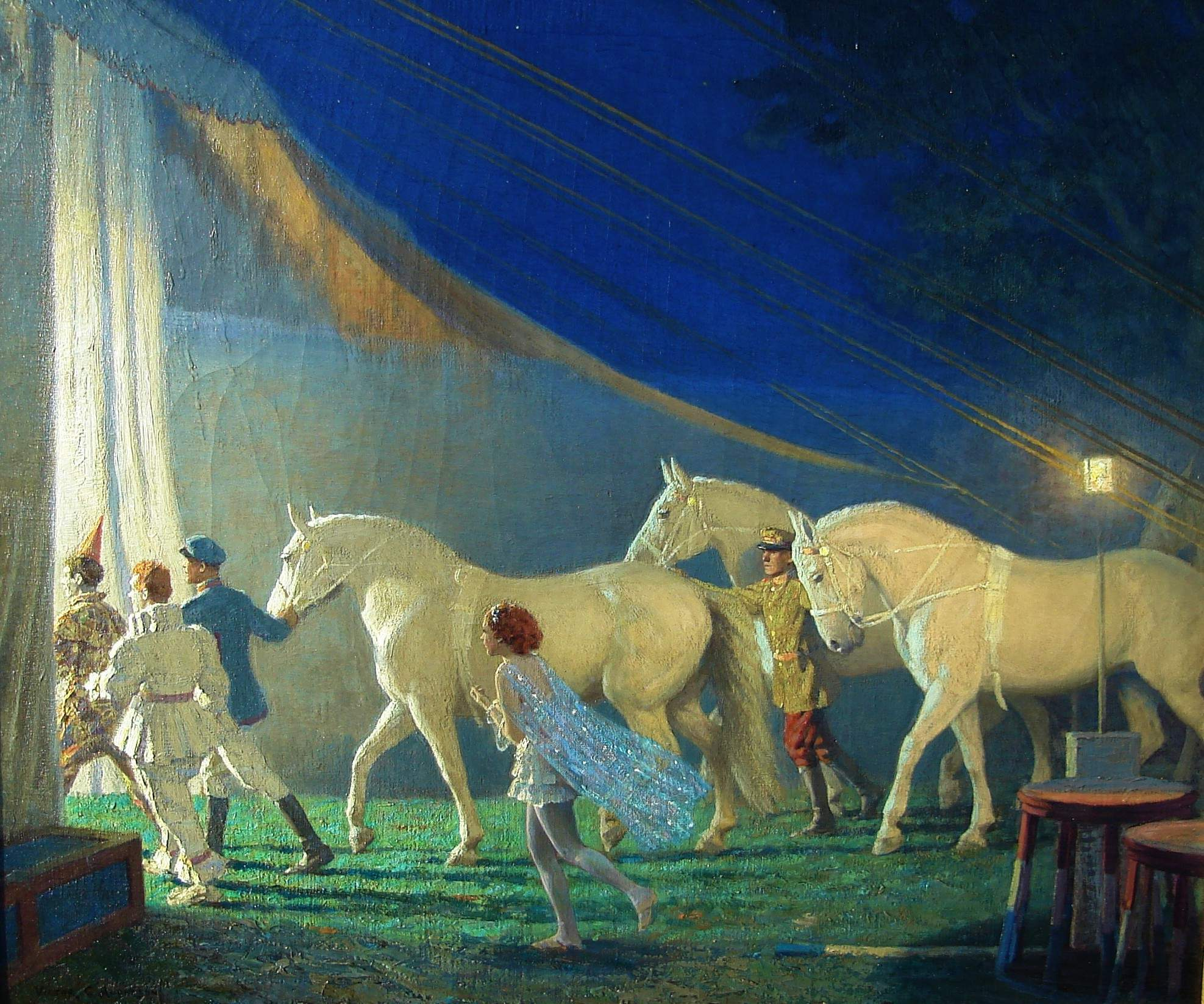 Victor Anderson (1882-1937) - Circus Performer