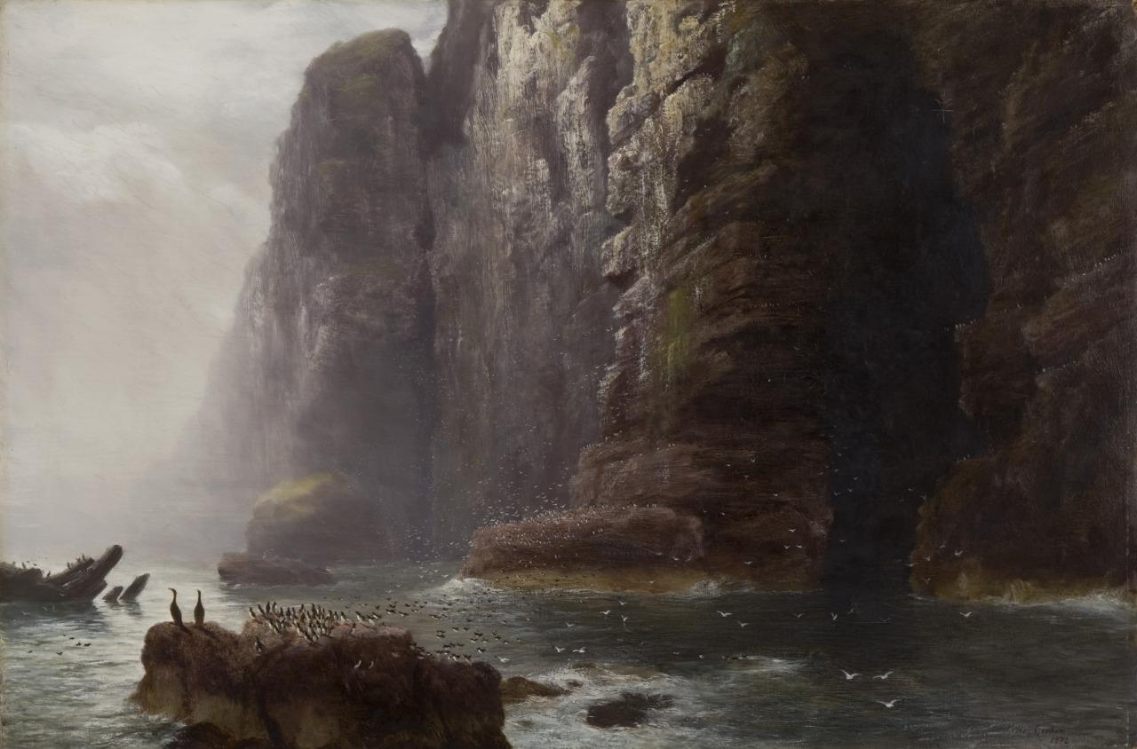 Peter Graham - The Cradle of the Sea-Bird, 1872