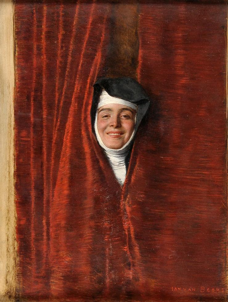 Jan van Beers (1852-1927) - Sister Rigoletta