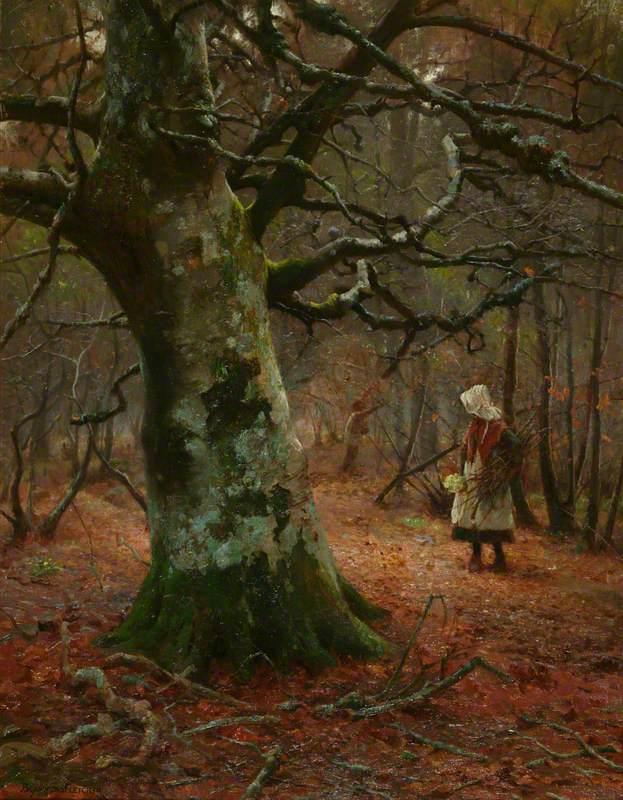 William Teulon Blandford Fletcher - The Old Beech Tree, 1910