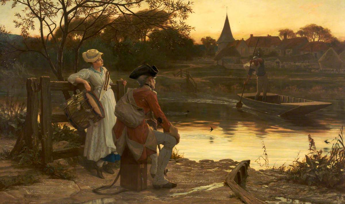 Philip Richard Morris - The End of the Journey ,1870