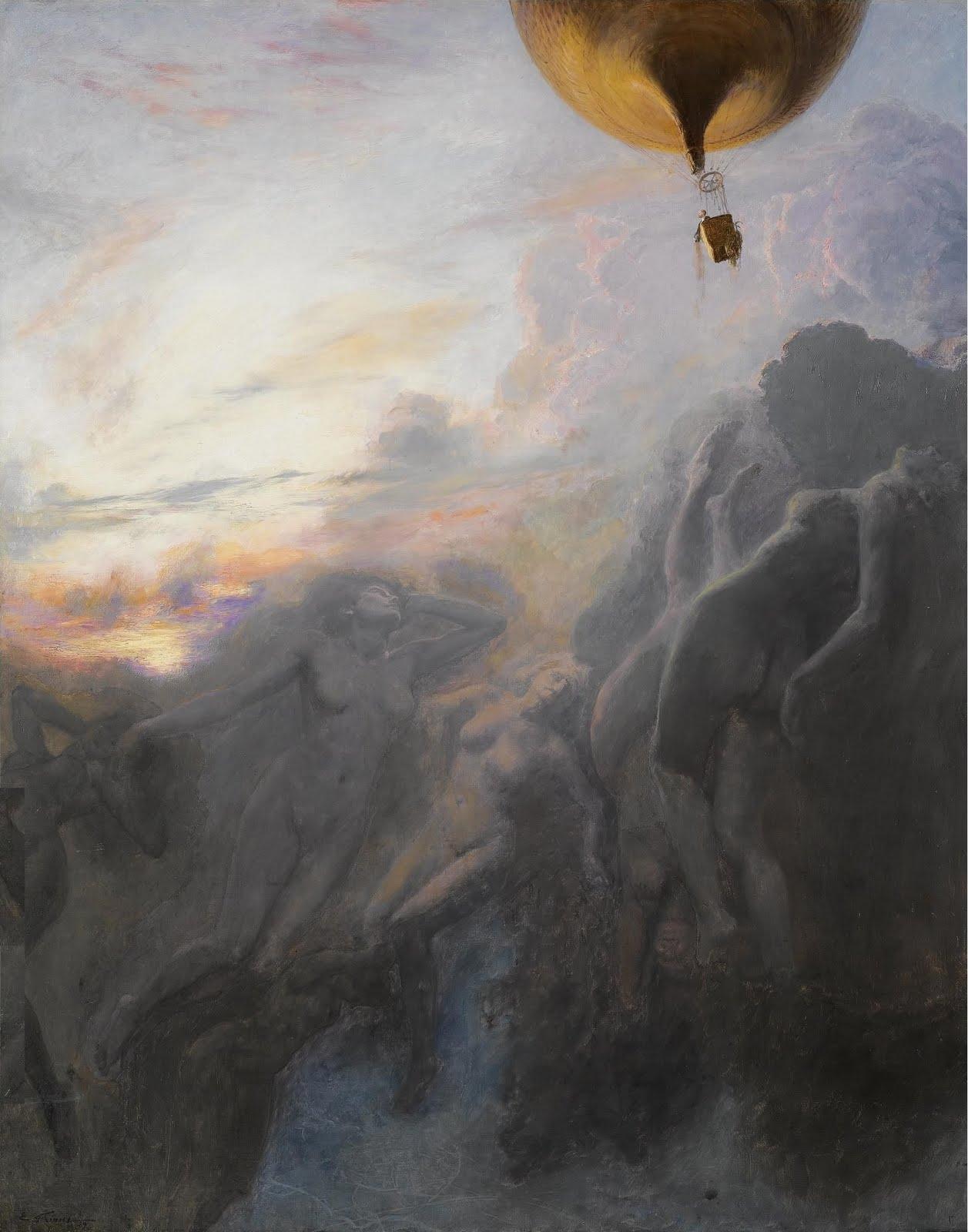 Еміль Фріан - Подорож у нескінченність 1899