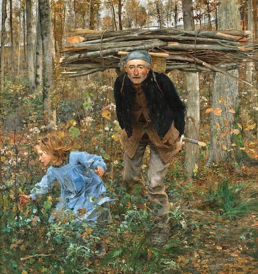Jules Bastien-lepage- The Wood Gatherer, 1881