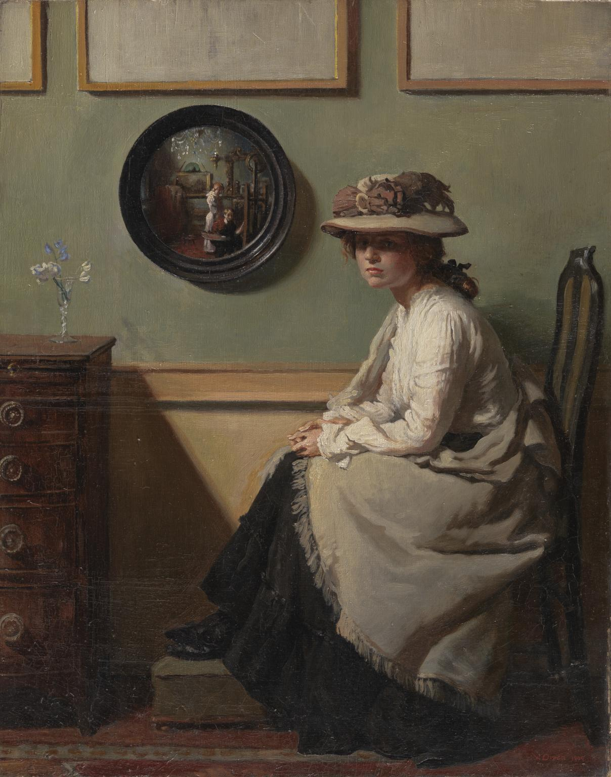 Sir William Orpen - The Mirror, 1900