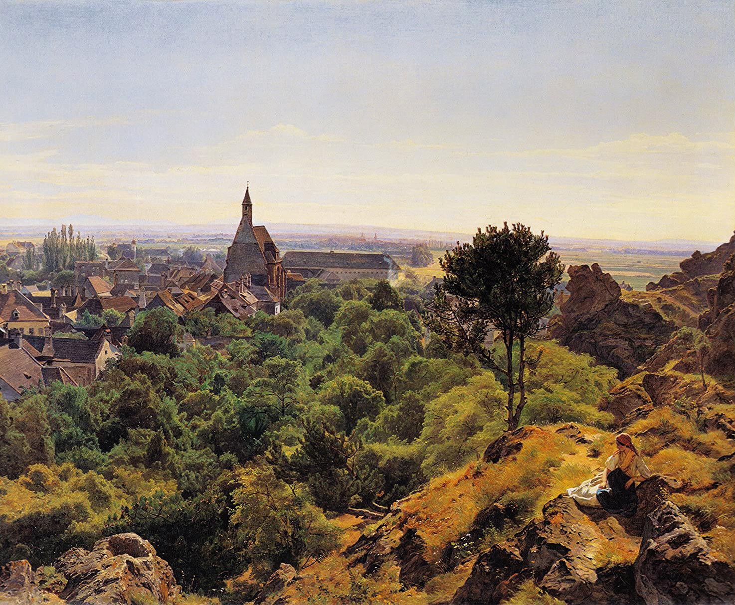 Ferdinand Georg Waldmuller - Sunny Day, 1848